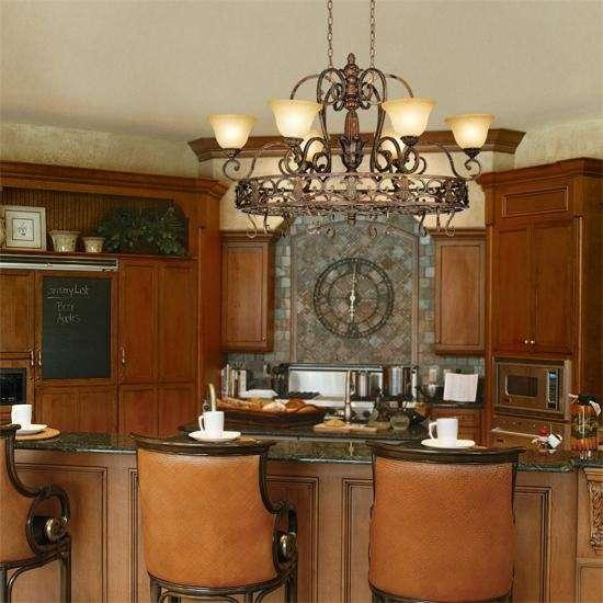 kitchen chandeliers fluorescent light fixture